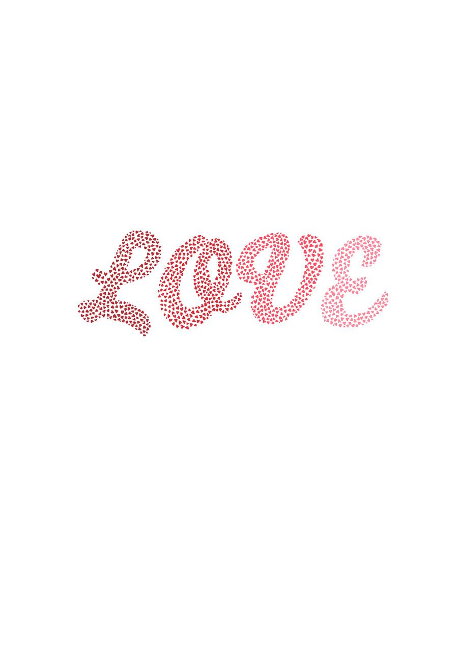 'Love text' Digital print on archival paper 2010
