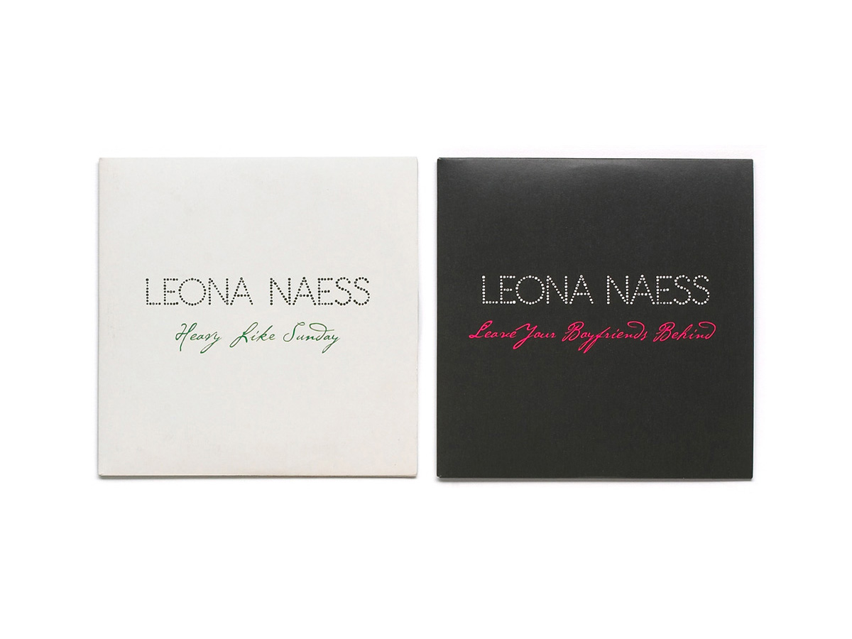 "Leona Naess ""Heavy Like Sunday"" CD single, Polydor Records, 2008"
