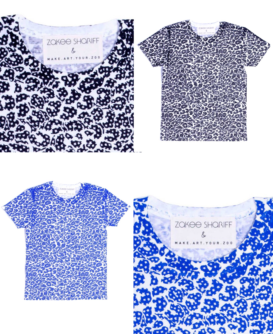 Printed T-shirts, Zakee Shariff for MAYZ, 2013