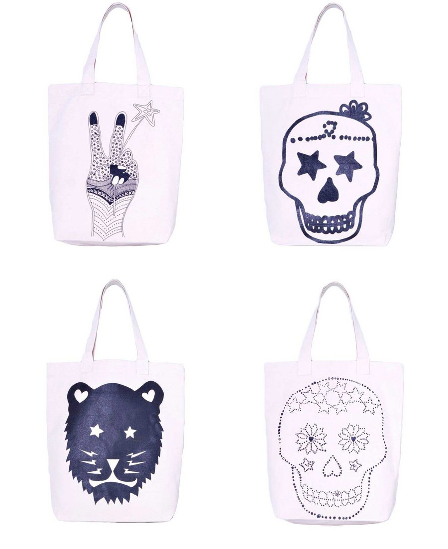 Printed bags, Zakee Shariff for MAYZ, 2013
