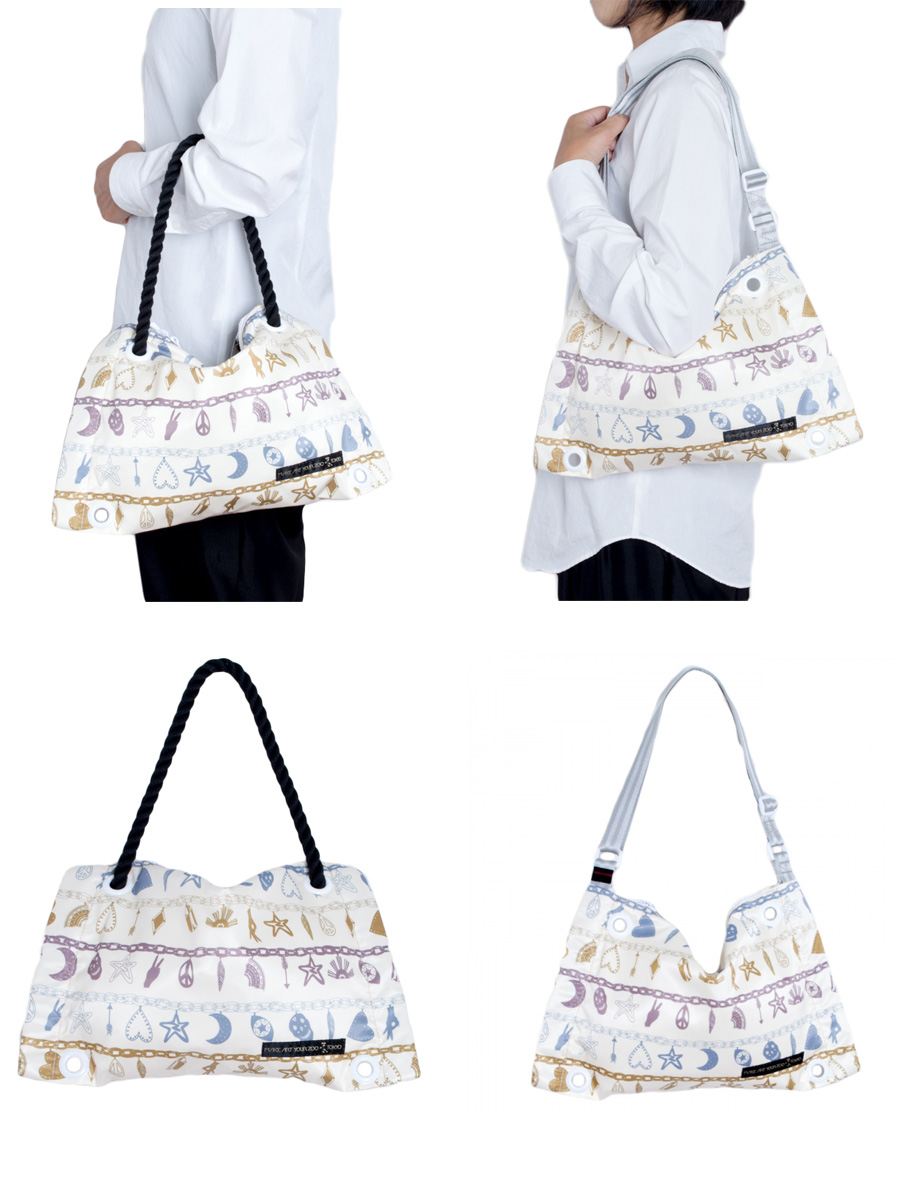 Printed bags, Zakee Shariff for MAYZ 2014