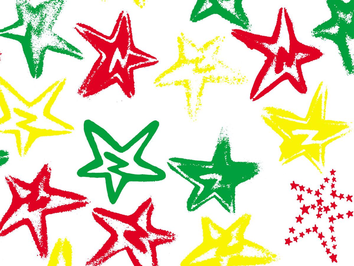 'Jah Star' printed textile 2006