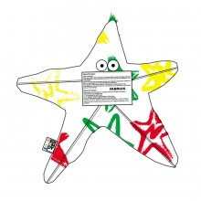Henri, 'Jah Star' textile design For Medicom's FABRICK project, 2006