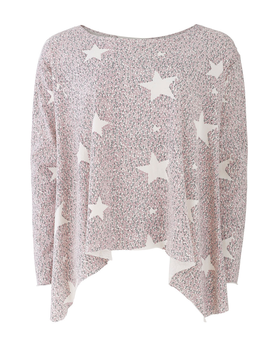 'Peace Star' printed top, Zakee Shariff for People Tree, AW13