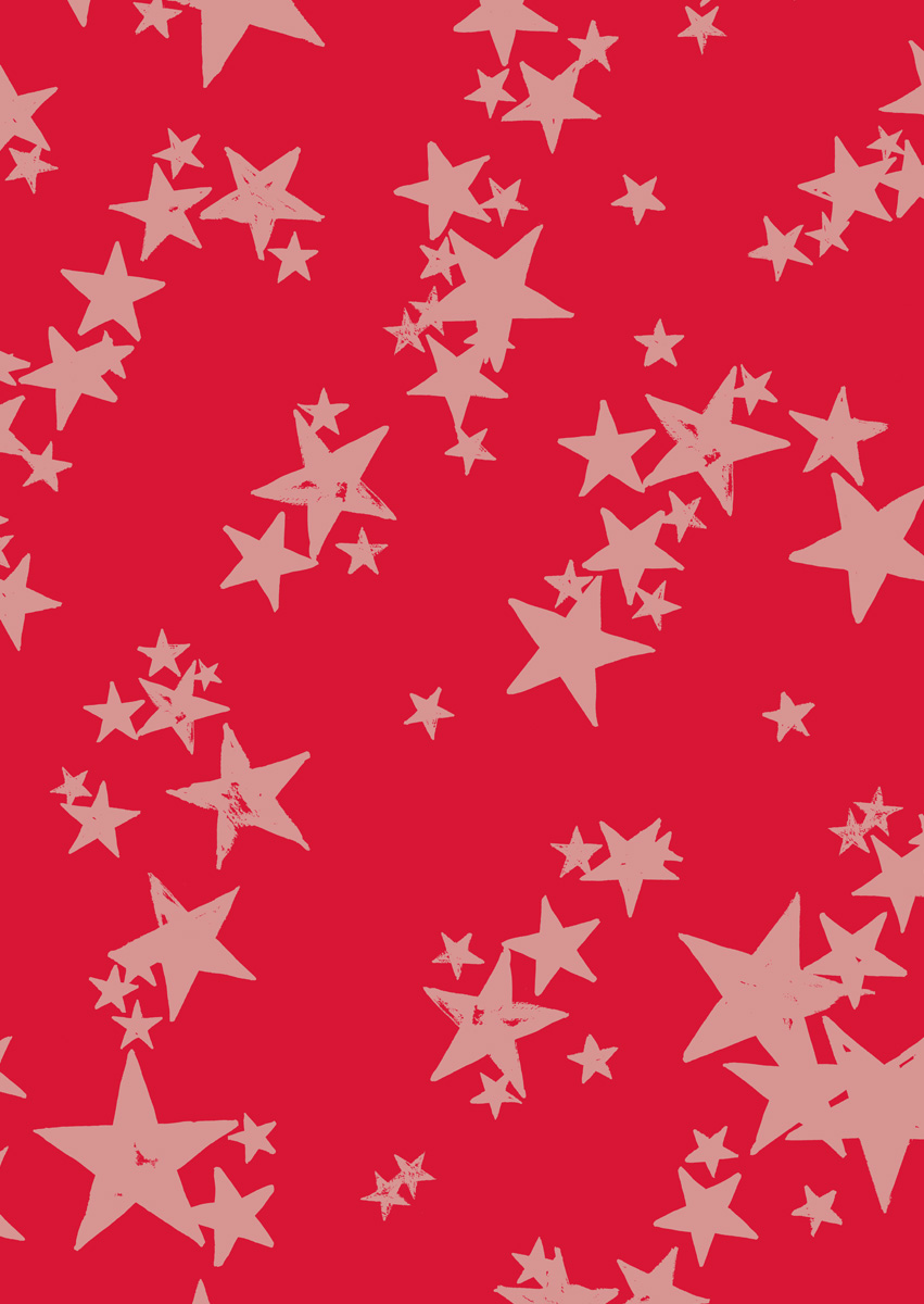 Digitally printed WATERSTAR RED