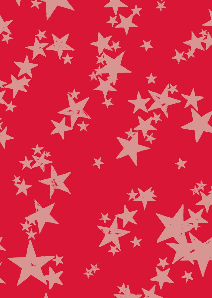 Digitally printed WATERSTAR RED