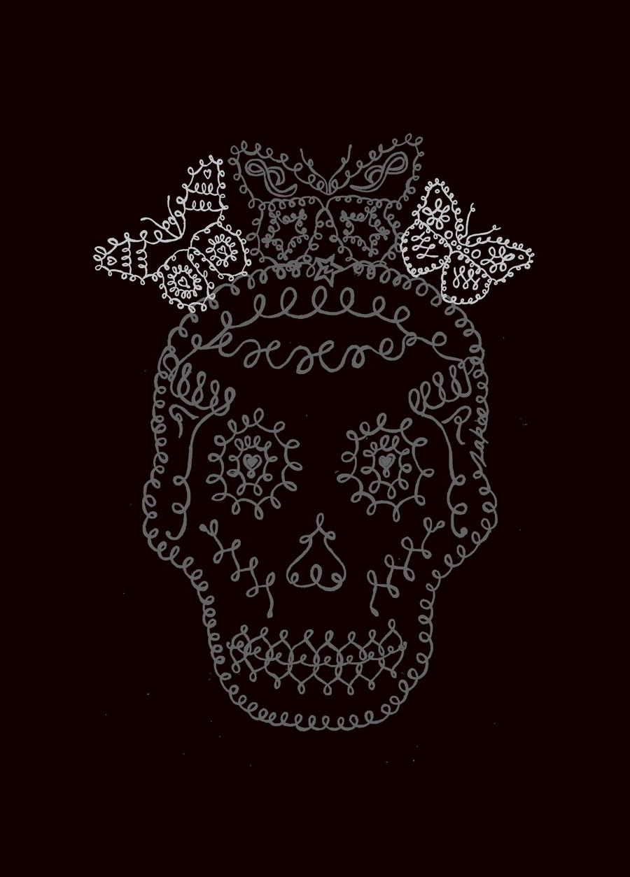 'Butterfly Skull', 2007. Zakee Shariff for Religion