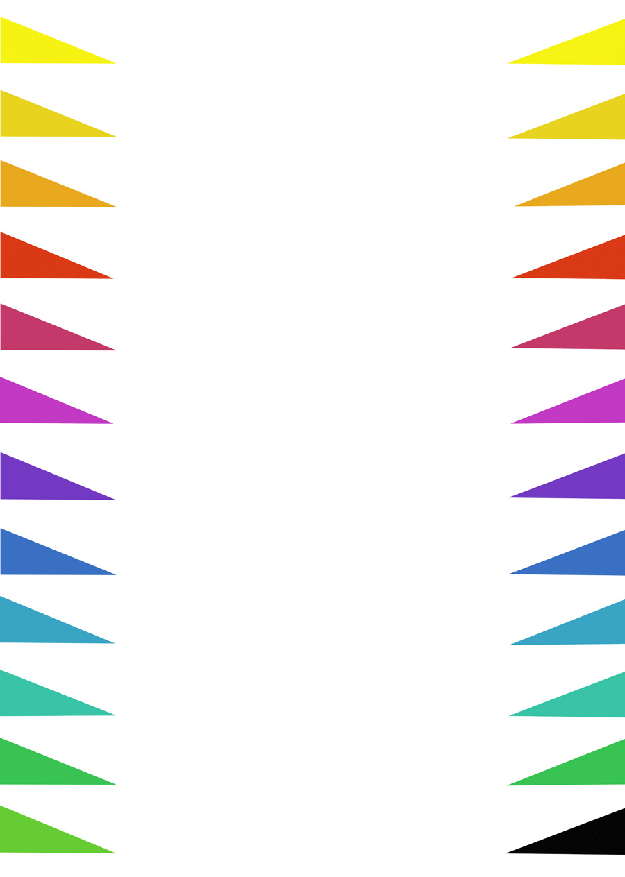 'Jaded Colour Walkway', 2009. Silkscreen print