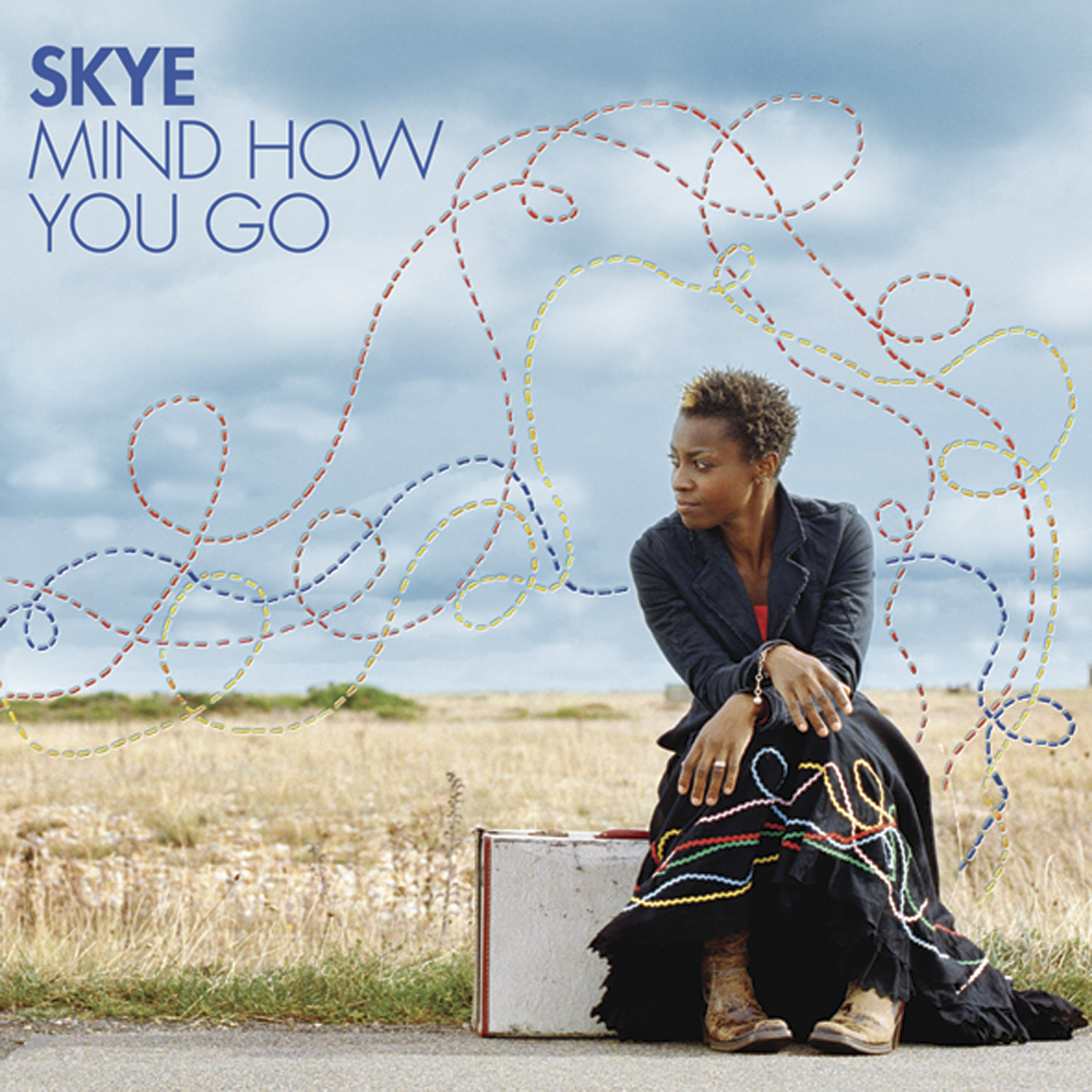 Skye, Mind How You Go album cover Zakee Shariff (illustration) & Frank Bauer (photo), 2006