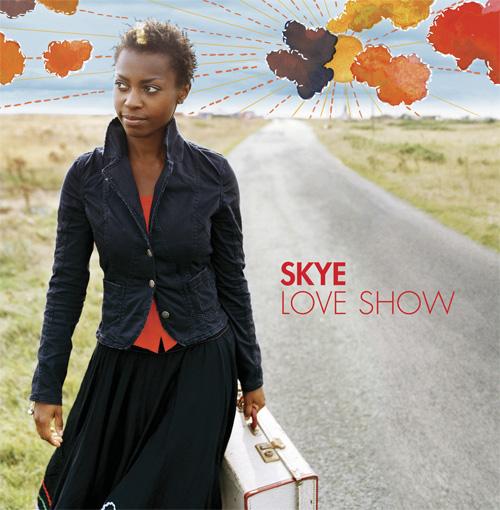 "Skye, ""Love Show"" single cover. Zakee Shariff (illustration) & Frank Bauer (photo), 2006"