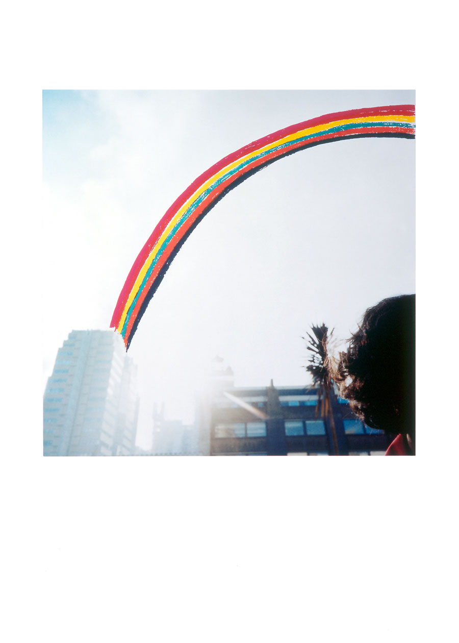 Zakee Shariff & Rosalind Miller, 'Hidden Rainbow', 2003. Silk-screen print on photograph, dry-mounted onto aluminium. 70 × 55 cm