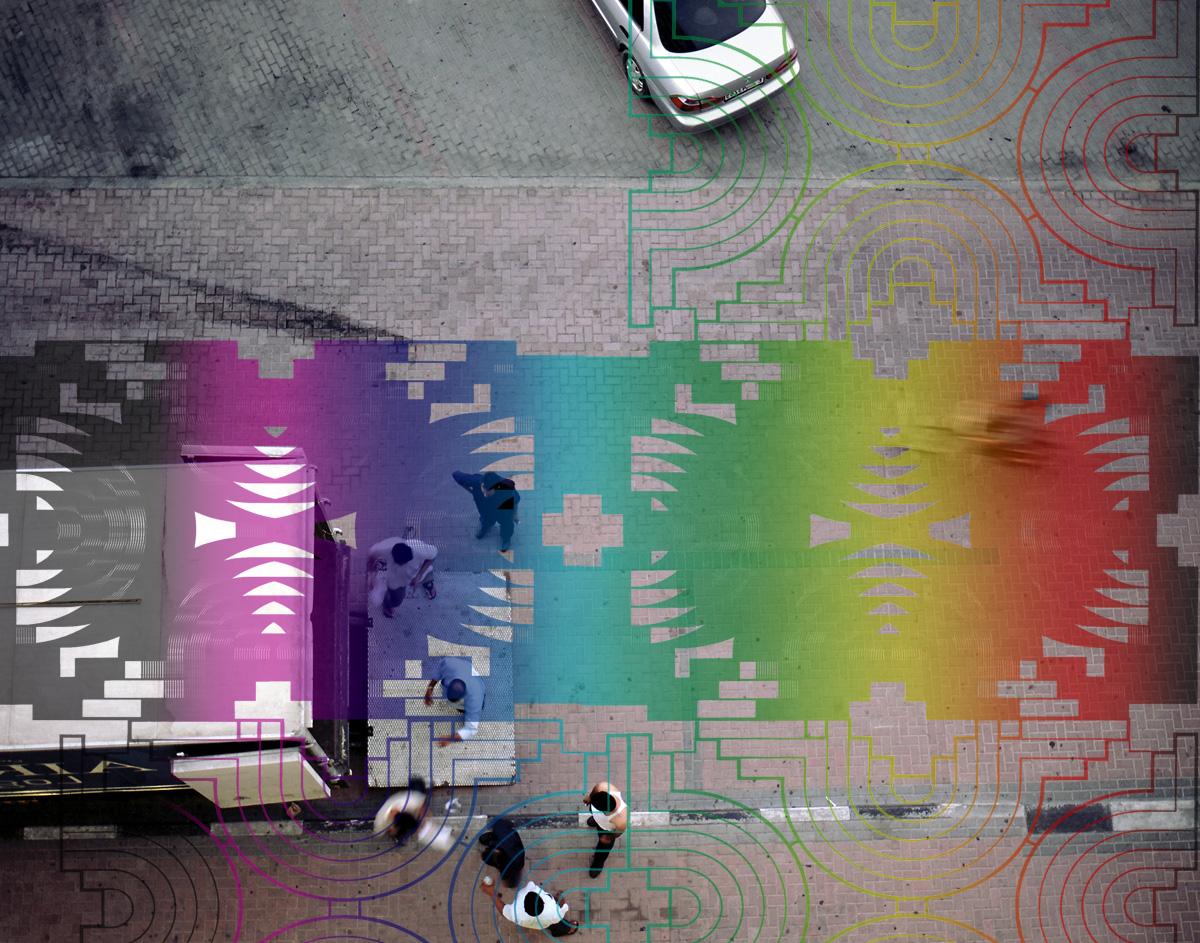 Colour Car, 2006. Silk-screen print on photograph