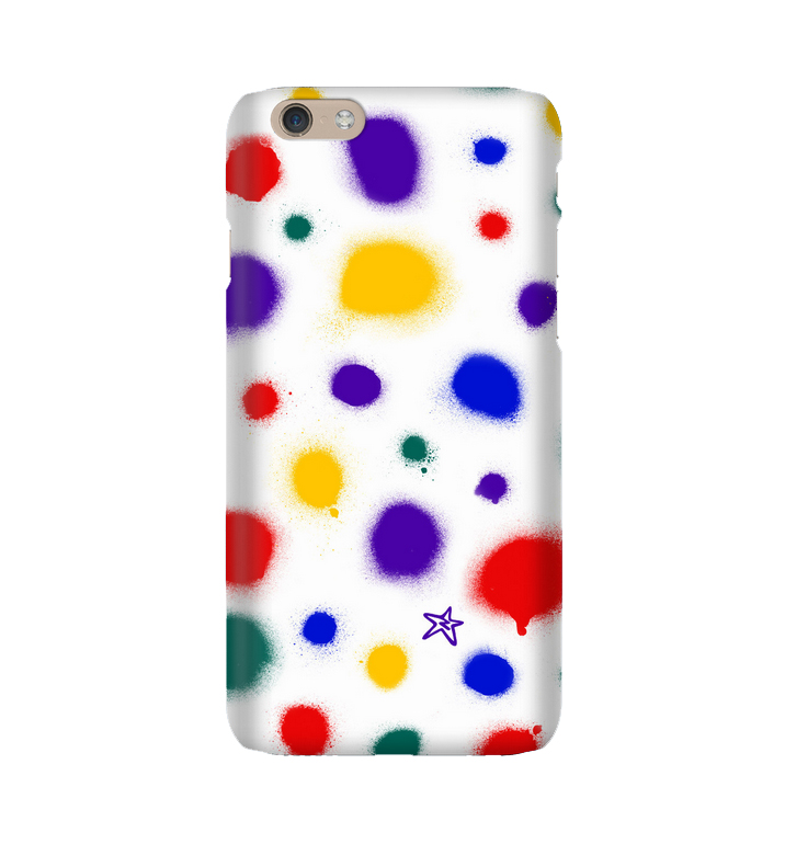 RAINBOW SPRAY SPOT Phone cover