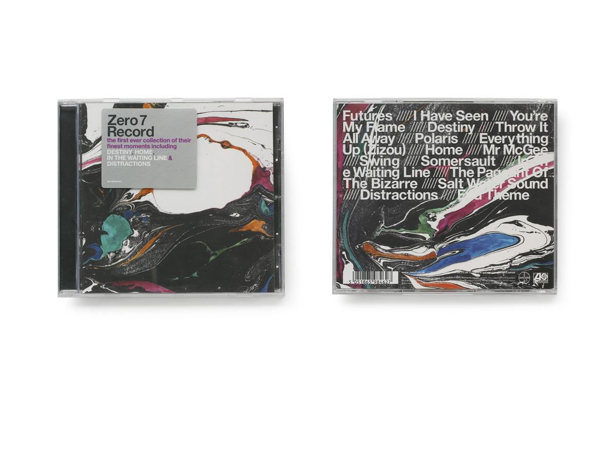 Zakee Shariff & Sam Hardaker, 'Record' CD cover for Atlantic Records