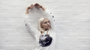 Moon Printed Sweat Photography by Jessica Sargeant. Model Charlie Siddick.