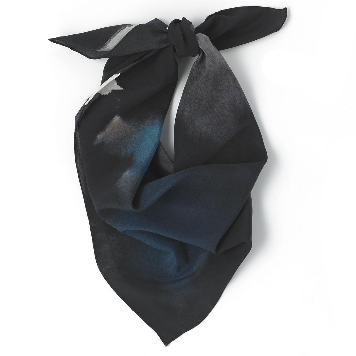 HIP HOP STAR Silk digital printed scarf 90 x90 cm.