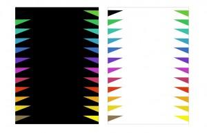 COLOUR WALKWAY Digital Prints on paper.