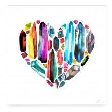 RAINBOW HEART Digital Print