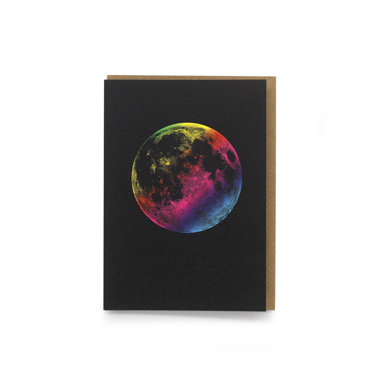 RAINBOW SUPERMOON PRINTED ON 300 GSM PAPER